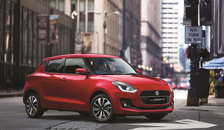 Suzuki'nin efsane modeli Swift yen..