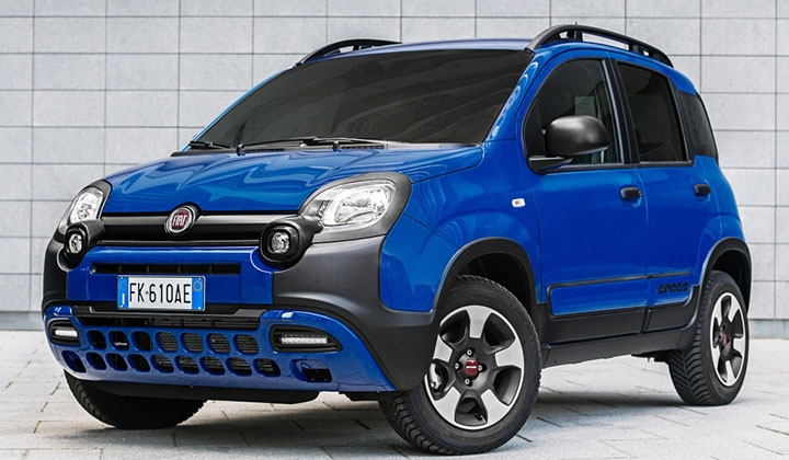 Fiat Panda City Cross Türkiye'de