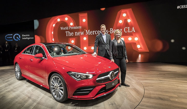 Mercedes-Benz, yeni yıla CLA model..