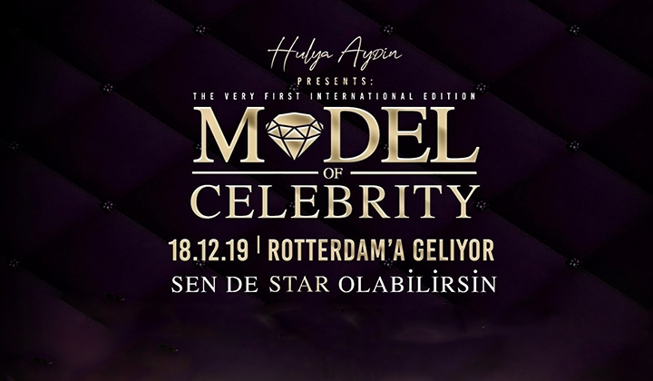 Model of Celebrity International 18 Aralık